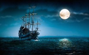 6919611-sailing-ship-at-night